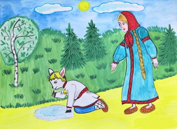 сестрица аленушка и братец иванушка картинки и рисунки что приходит
